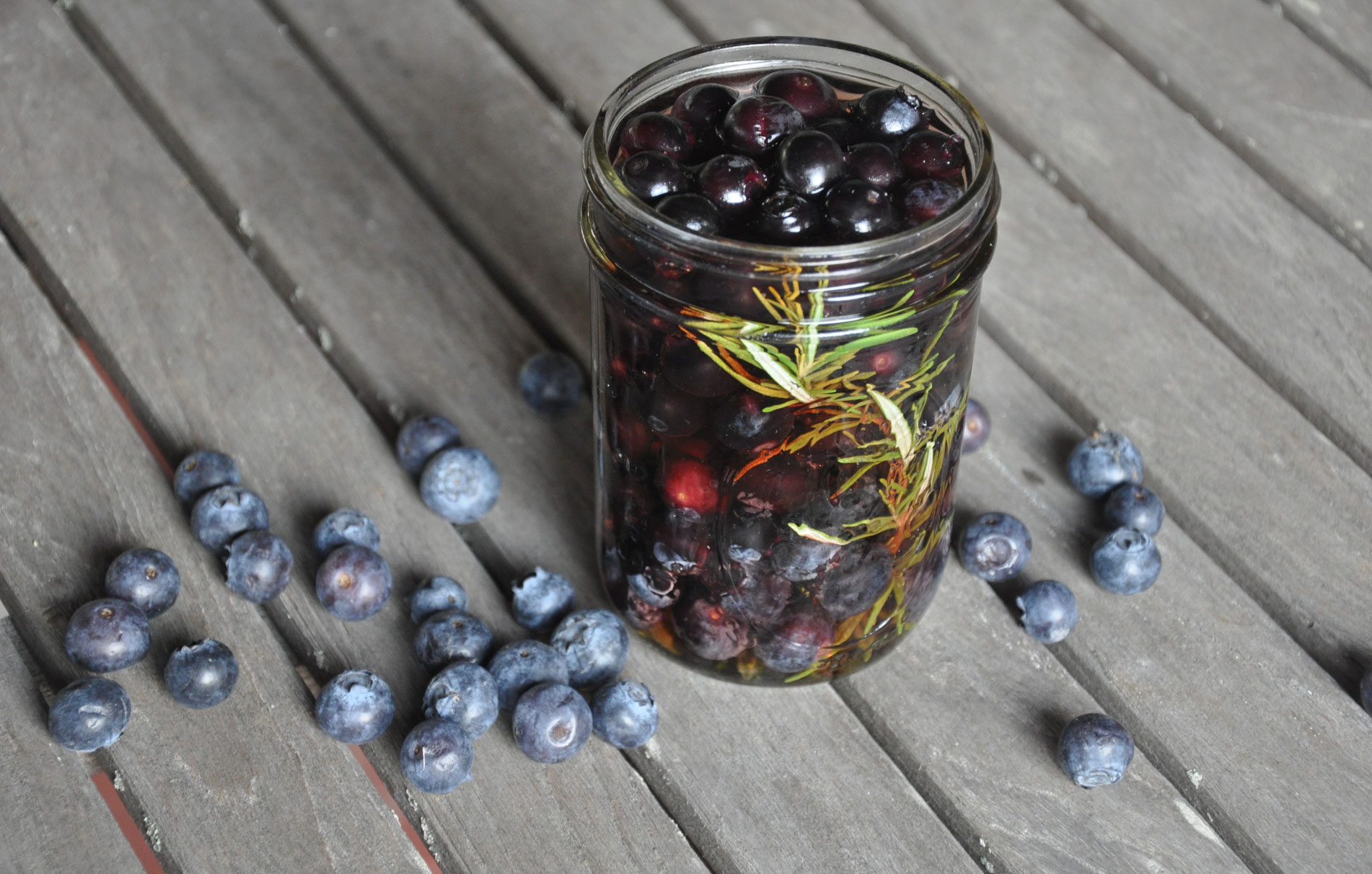 Berries Preserved