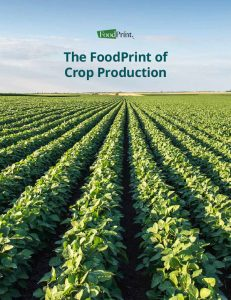 FoodPrint of Crops Report Cover