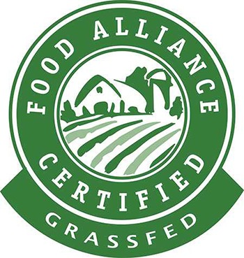 Food Alliance Grassfed Certified Label
