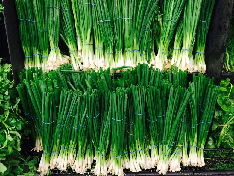 Scallions and Green Onion
