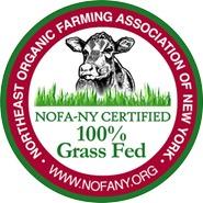NOFA Certified Organic Grassfed Label