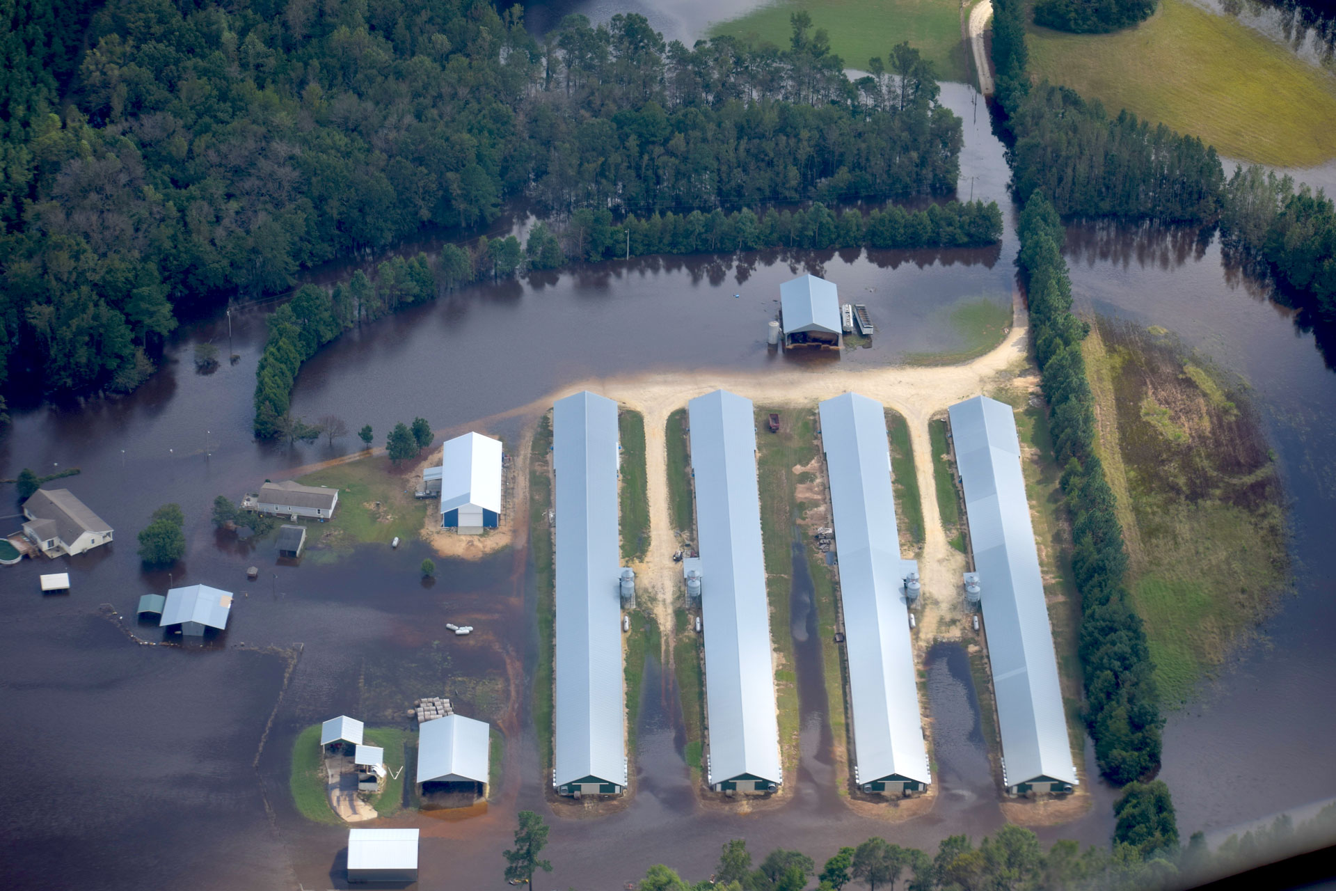 foodprint-of-dairy cafo flooding