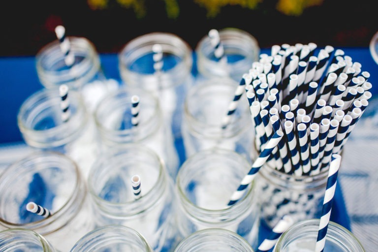 use paper straws and learn what to recycle