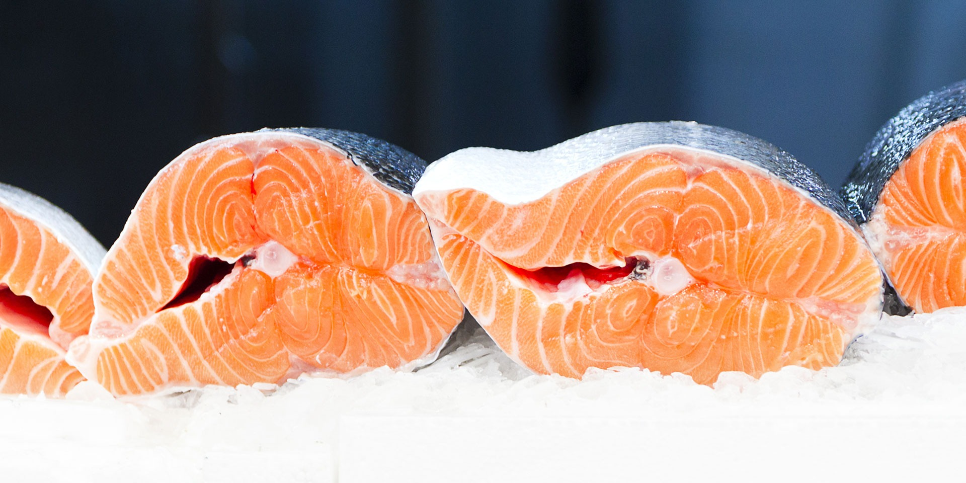 learn more about farmed seafood like salmon