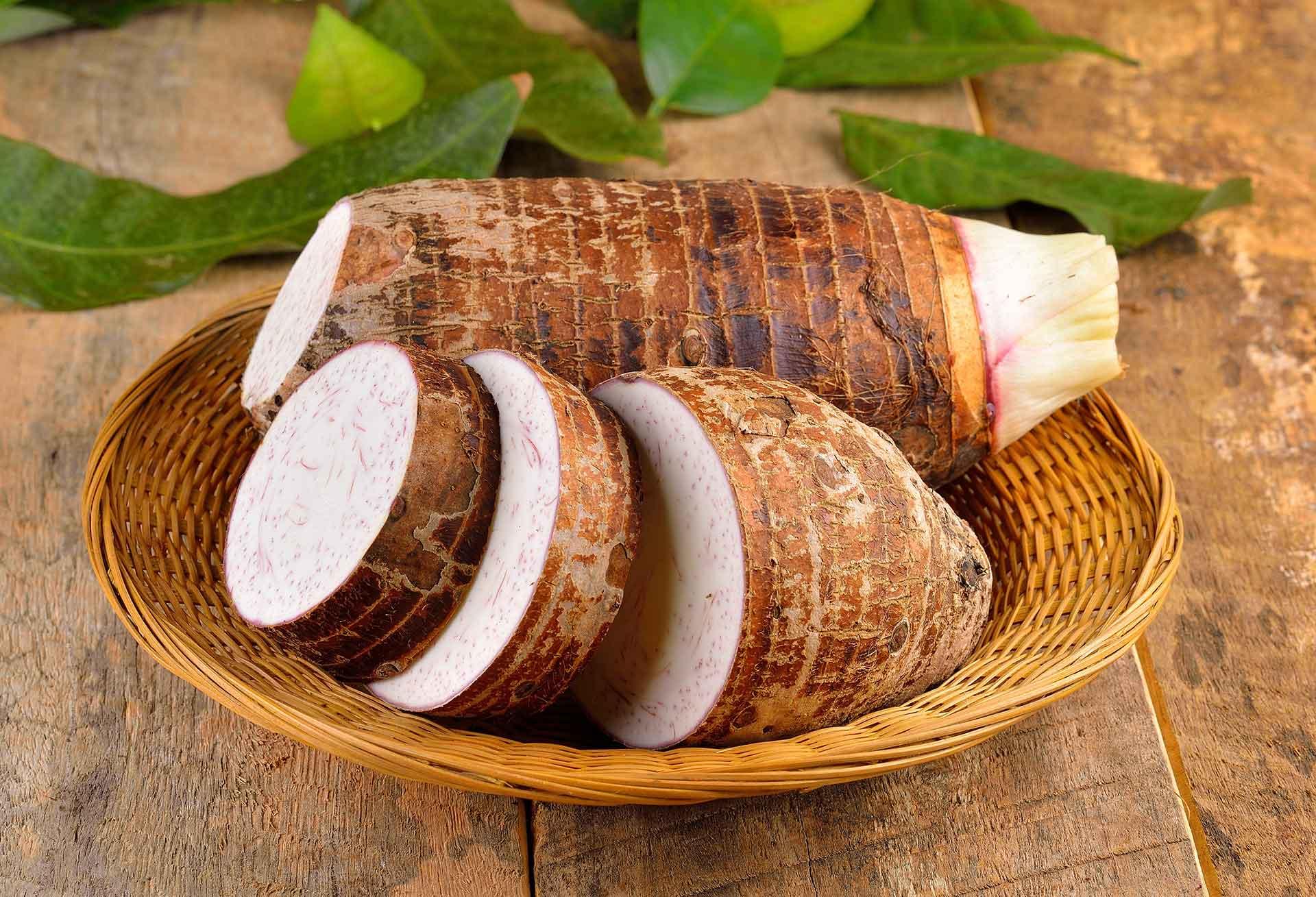 Local Food System Hawaii Taro Callout